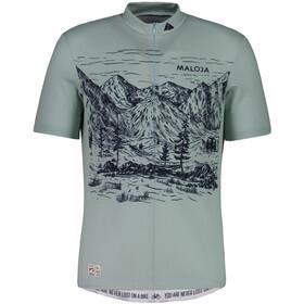 Maloja SerlasM. Shortsleeve Bike Jersey Men cliff